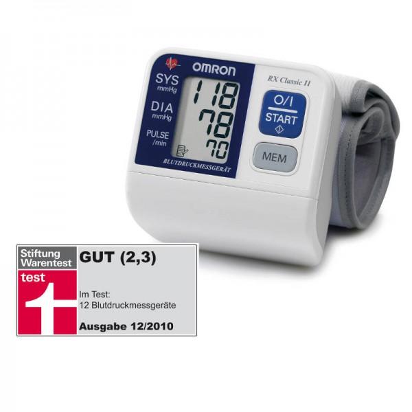 Omron RX Classic II Handgelenk-Blutdruckmessgerät