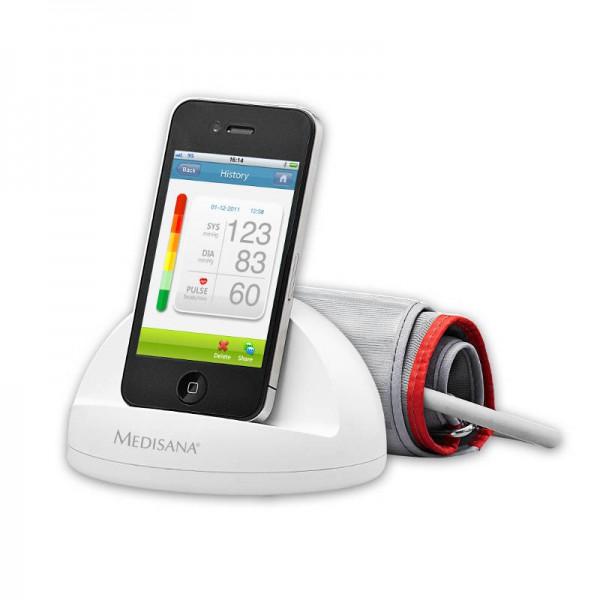 Medisana iHealth Blutdruckmesssystem für iPhone iPad iPod Touch