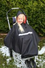 Orgaterm Kinder-Poncho mit Nylon Fleece