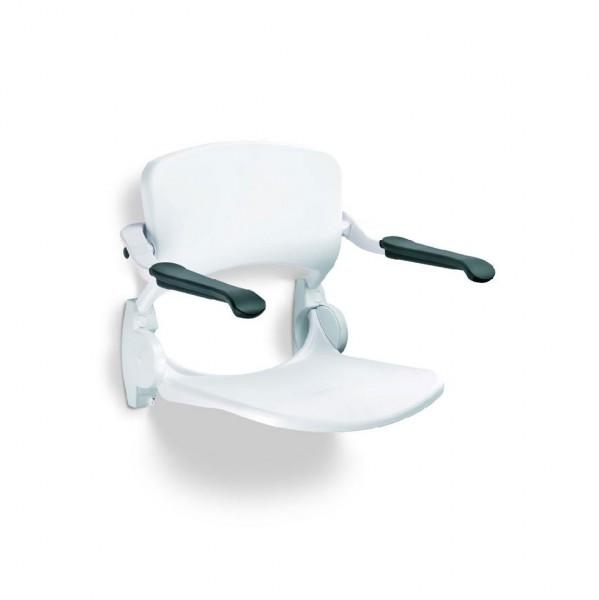 Handicare LinidoSolutions™ Duschsitz mit Rückenlehne und Armlehnen