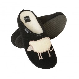 Werkmeister Damenpantoffeln Schaf