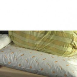 Lück Rhombo-med Rückenstützkissen mit Fahne 60 x 80 cm