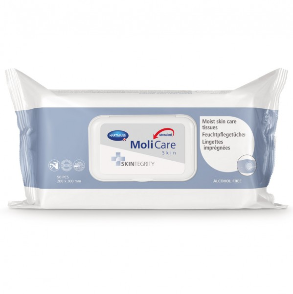Hartmann MoliCare® Skin Feuchtpflegetücher (1x50 Stück)