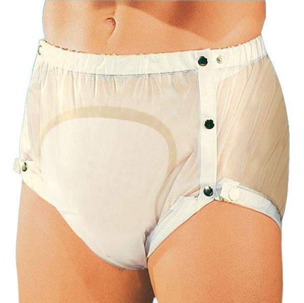 Suprima Inkontinenz-Slip PVC mit verstellbarem Beingummi