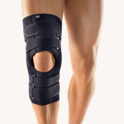 Bort StabiloPro® Kniebandage offene Form, schwarz