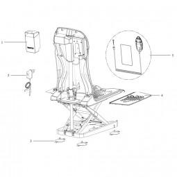 Ersatzteile für Aquatec Badewannenlifter Kogia