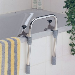 Sicherheitsgriff für die Badewanne, Edelstahl