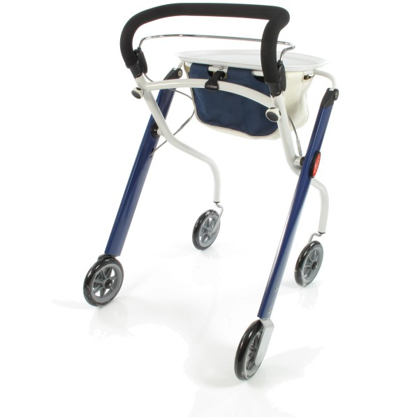 Trust Care Indoor Rollator Let's Go blau weiß