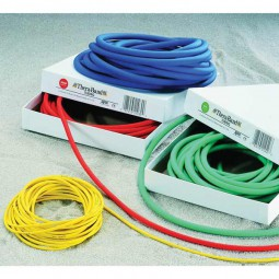 Thera-Band Tubing, super stark, silber, Rolle à 7,5 m