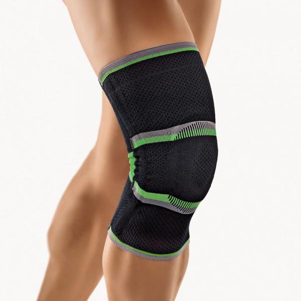 Bort StabiloGen® Eco Sport Kniebandage, schwarz-grün