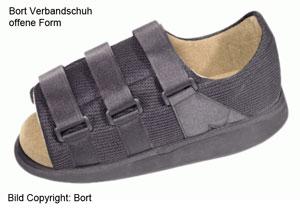 Bort-Verbandschuh-offen