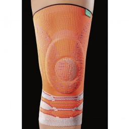 JuzoFlex Genu Xtra STYLE luminous orange Kniebandage