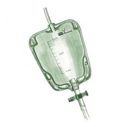 uroVision Beinbeutel Komfort 1000 ml