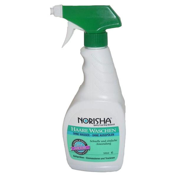 Norisha Shampoo 500ml - ohne Wasser, ohne Ausspülen