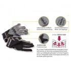 Etac Rollstuhlhandschuhe, Teilleder