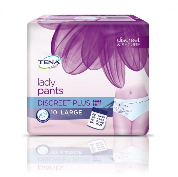 TENA Lady Pants Discreet Plus L (1x10 Stück)