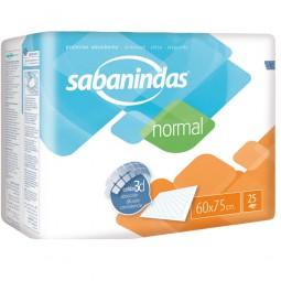 Sabanindas Normal Bettschutzeinlagen 60x75 cm (1x25 Stk.)