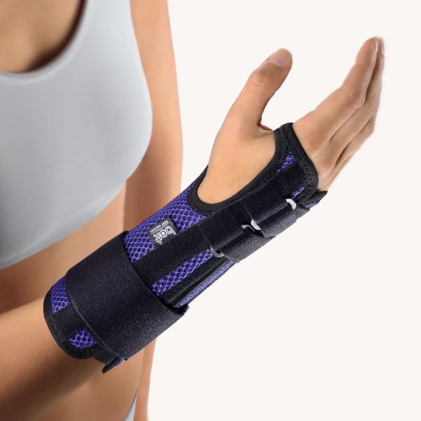 Bort ManuStabil® Handgelenksschiene, blau