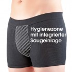 Suprima Herren Slip body guard light schwarz