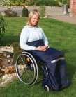 Beinschutzdecke Schlumpf für Rollstuhlfahrer