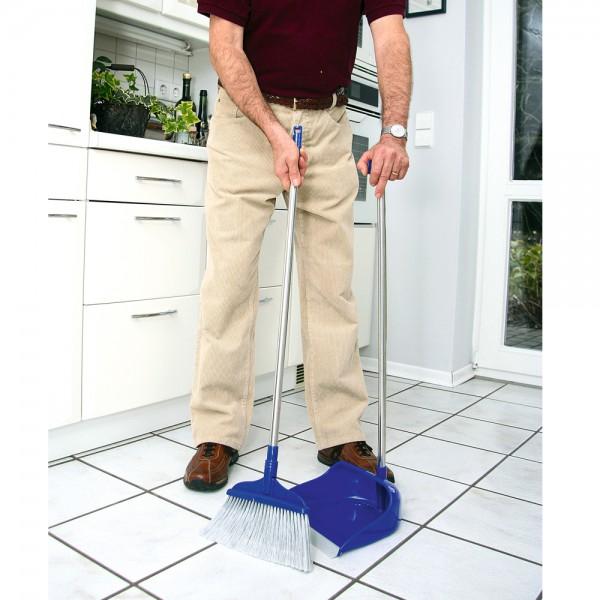 homecraft® Kehrblech und Besen mit langem Stil