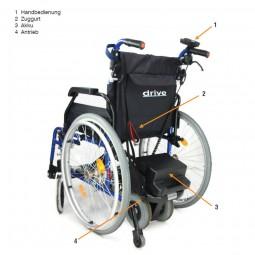 DRIVE PowerStroll Rollstuhlschiebehilfe bis 135 kg