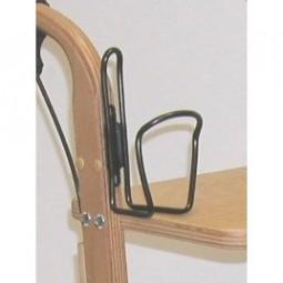 Holzrollator Flaschenhalter