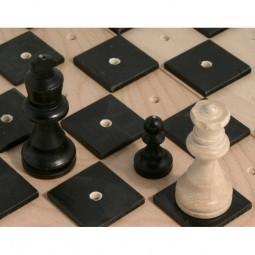 Schachspiel taktil für Blinde