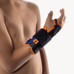 Bort ManuStabil® kurz Bandage Handgelenk Kinder, blau