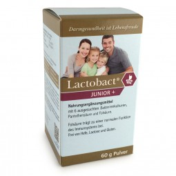 HLH BioPharma Lactobact JUNIOR+ 60g Pulver