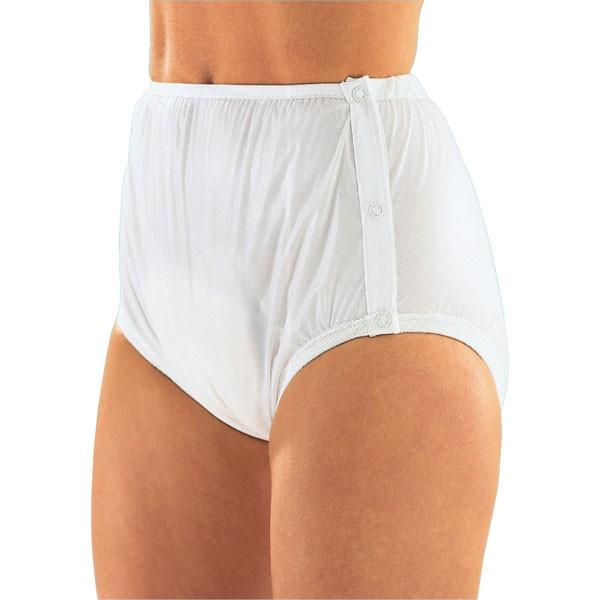 Suprima Inkontinenz-Slip knöpfbar aus PVC mit Innenfutter