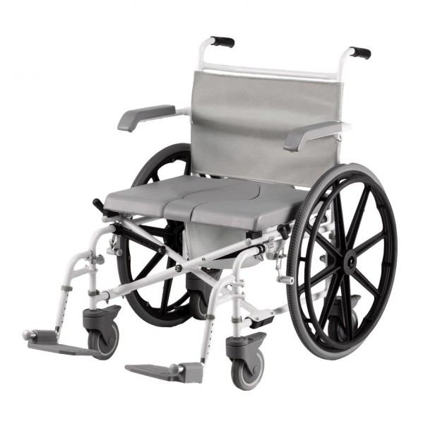 Drive Medical Dusch-Toilettenrollstuhl Duo Motion 24 XL