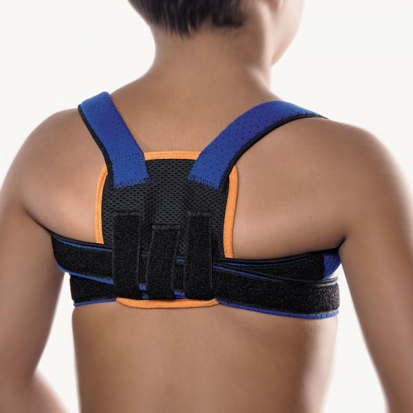 Bort StabiloFix® Rückenbandage - Geradehalter für Kinder, blau