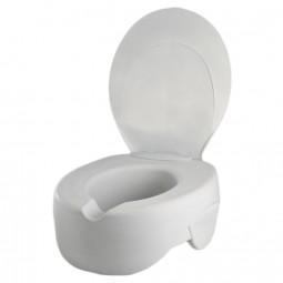 Rehosoft Schaumstoff Toilettensitzerhöhung mit Deckel