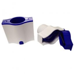 RFM Tablettenbox 3 in 1 - Aufbewahren, Teilen, Mörsern