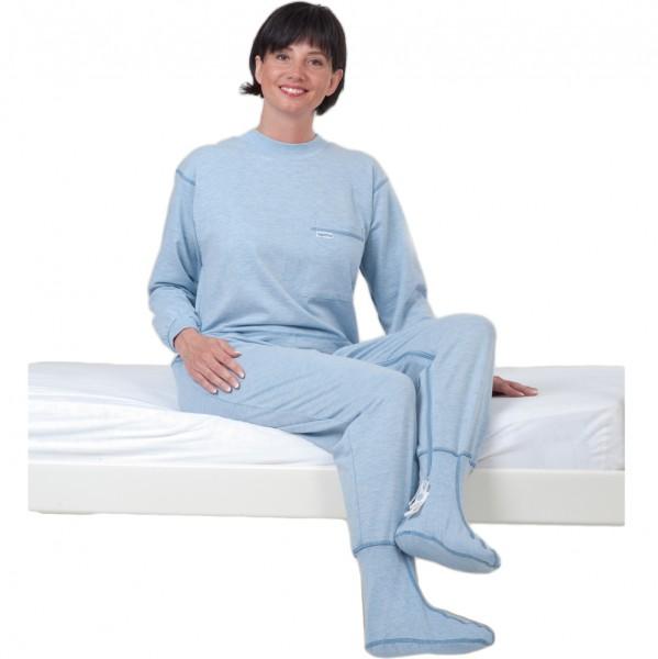 Suprima Pflegeoverall mit Fußteil