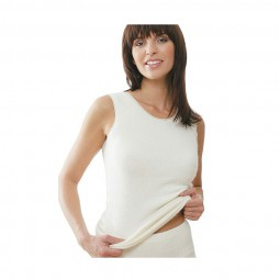 Medima Damen Unterhemd 100% Angora