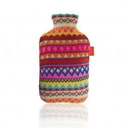 Fashy Wärmflasche mit Bezug im Perudesign