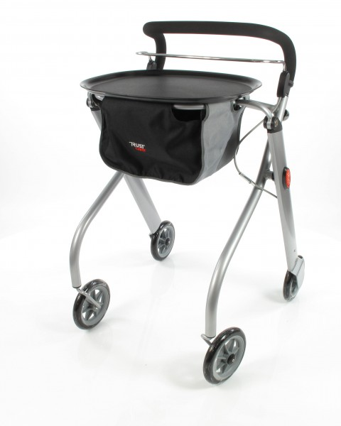 Trust Care Indoor Rollator Let's Go silber