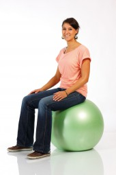 Togu Happyback® Fitnessball grün
