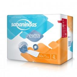 Sabanindas Extra Bettschutzeinlagen 60x75 cm (1x20 Stk.)