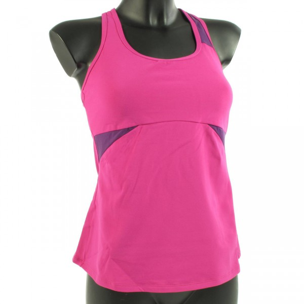 Amoena Fan Back Top - Sportshirt pink beere