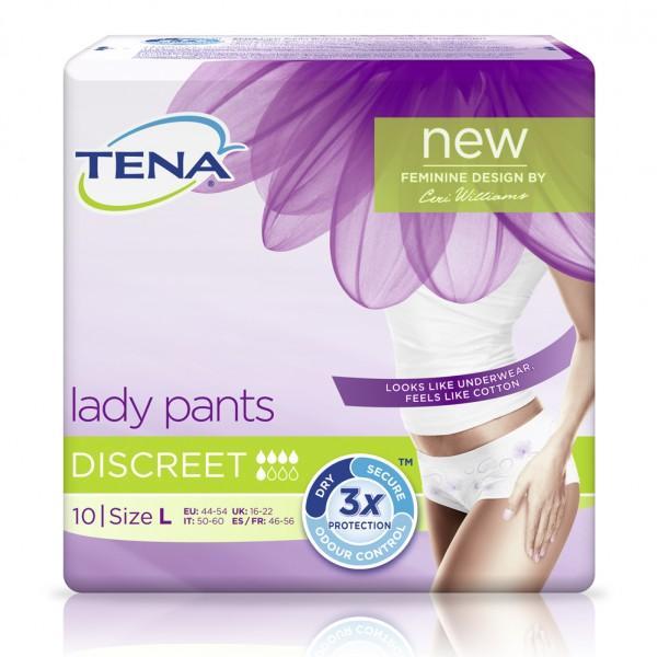 TENA Lady Pants Discreet L (1x10 Stück)