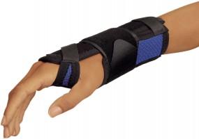 Bort ManuStabil® kurz Bandage Handgelenk, blau