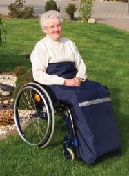 Beinschutzdecke Standard für Rollstuhlfahrer