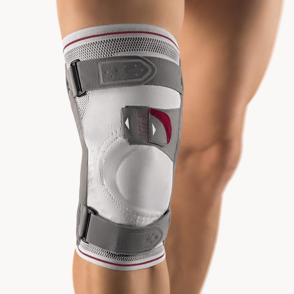 bort asymmetric plus kniebandage silber kniebandage bandagen gesundheit careshop. Black Bedroom Furniture Sets. Home Design Ideas