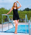 Suprima Inkontinenz Badeanzug modisch, bordeaux