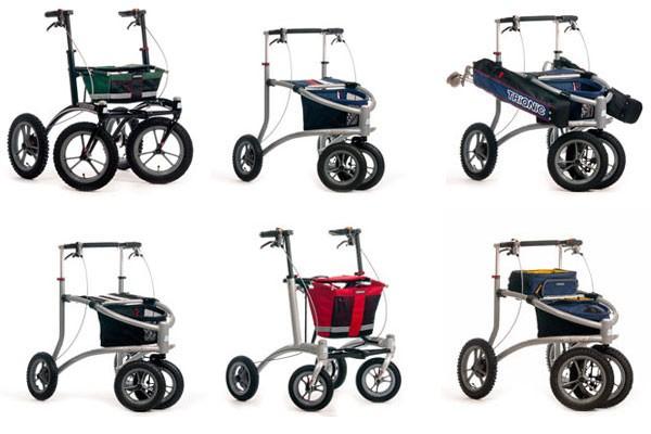Trionic – Moderne Rollatoren für sportliche Senioren