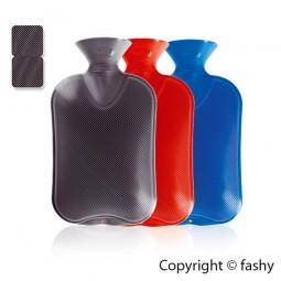 Fashy Wärmflasche Classic 2,0 L mit Doppellamelle