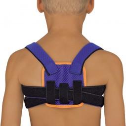 StabiloFix® Rückenbandage - Geradehalter für Kinder, blau
